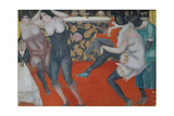 In the Cabaret, 1913 Giclee Print by Boris Dmitryevich Grigoriev