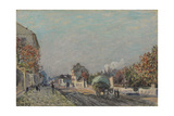 Une Rue À Marly, 1876 Giclee Print by Alfred Sisley