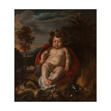 Bacchus as a Child Giclee-trykk av Jacob Jordaens