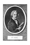 Thomas Augustine Arne (1710-177), English Composer Giclee Print