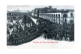 The Reception of Bishop Mariano Soler, Montevideo, Uruguay, C1900s Giclee Print