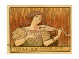 Leçons De Violon, 1898 Giclee Print by Paul Berthon