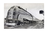 Passenger Train, Pullman of the Pacific Union, America, 20th Century Giclee Print