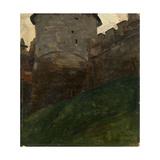 The Novgorod Kremlin Tower, C. 1903 Giclee Print
