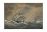 The Steam Frigate Svetlana, 1878 Giclee Print by Alexander Karlovich Beggrov