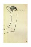 Anna Akhmatova, 1911 Giclee Print by Amedeo Modigliani