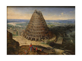 The Tower of Babel, 1594 Giclee Print by Lucas van Valckenborch
