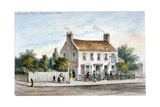 View of the Yorkshire Stingo Inn on the Marylebone Road, London, 1770 Giclee Print
