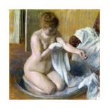 Femme Au Tub, Ca. 1883 Giclee Print by Edgar Degas