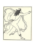 Apollo Pursuing Daphne, 1896 Giclee Print by Aubrey Beardsley