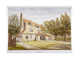 View of a Public House, Brook Green, Hammersmith, London, C1820 Giclee Print by John Claude Nattes
