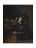 Family Scene in an Interior, 1885 Giclee Print by Peter Vilhelm Ilsted