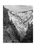 Grand Canyon, Yellowstone National Park, USA, 19th Century Giclee Print by  Taylor