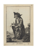 Le Speculateur (The Speculato), 1784 Giclee Print by Joseph Franz Von Goez