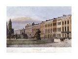 Portman Square, Marylebone, London, 1813 Giclee Print