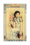 Shanghai Advertising Poster for Boot Polish, C1930s Giclee Print
