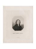 Portrait of Ernst Moritz Arndt, 1817 Giclee Print by Friedrich Wilhelm Bollinger