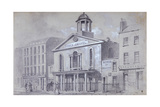 Percy Chapel, Charlotte Street, Fitzroy Square, London, 1857 Giclee Print