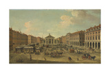 Four Views of London: the Covent Garden Giclée-tryk af Antonio Joli