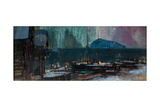 The Northern Lights in Norway, 1902 Giclee Print by Konstantin Alexeyevich Korovin
