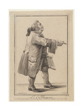 Le Financier (The Financie), 1784 Giclee Print by Joseph Franz Von Goez