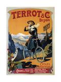Cycles Terrot and Cie, 1905 Impressão giclée por Francisco Tamagno