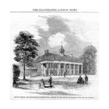 Mount Vernon, the Residence of Washington, 19th Century Giclee Print