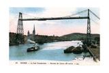 Rouen, Le Pont Transbordeur, (Transporter Bridg), 20th Century Giclee Print