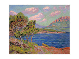La Baie D'Agay, Cote D'Azur, C. 1910 Giclee Print by Jean-Baptiste Armand Guillaumin
