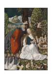 The Rest on the Flight into Egypt, C. 1510 Giclee Print