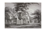 The Hoop and Toy Inn on Brompton Road, Kensington, London, C1820 Giclee Print by Frederick Nash