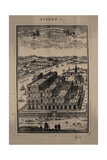 Hanging Gardens of Semiramis, 1683 Giclee Print by Alain Manesson Mallet