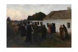 Returning Home, 1876-1877 Giclee Print by Ilya Yefimovich Repin