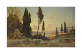 Views across the Bosphorus, Constantinople Giclee Print by Hermann David Salomon Corrodi