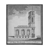 Church of St Mary Woolnoth from the North, City of London, 1770 Giclee Print