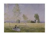 Verano, 1874 Lámina giclée por Claude Monet