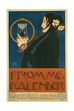 Frommes Kalender, 1903 Impression giclée par Koloman Moser