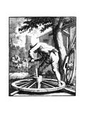 The Wagon Maker, 18th Century Giclee Print