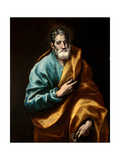 Peter the Apostle Giclee Print by  El Greco