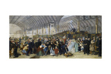 The Railway Station, 1866 Giclee Print by William Powell Frith