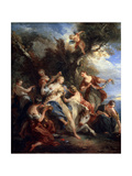 The Rape of Europe, C1725 Giclee Print by Francois Lemoyne