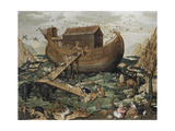 The Noah's Ark on Mount Ararat Giclee Print by Simon de Myle