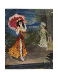 Dancer, Early 1900s Giclee Print by Sergei Arsenyevich Vinogradov