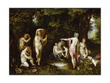 Diana and Actaeon, Ca 1595 Giclee Print