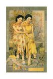Shanghai Advertising Poster, C1930s Giclee Print