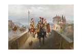 Napoleonic Troops Giclee Print by Gottfried Willewalde
