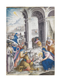The Adoration of the Magi Giclee Print by Giulio Clovio