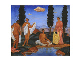 Bathers, 1910 Giclee Print by Eugeniusz Zak