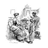 Female Typist, 1893 Giclee Print