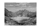 The Fish Lake, Switzerland, 1879 Giclee Print by  Weber
